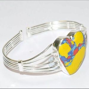 Jewelry - Rainbow Mosaic Jasper Bracelet